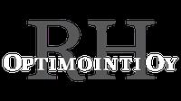 RH Optimointi logo valkoinen